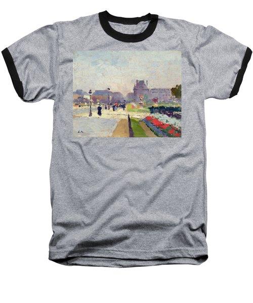 Avenue Paul Deroulede Baseball T-Shirt by Jules Ernest Renoux