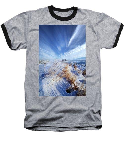 Baseball T-Shirt featuring the photograph Azure by Phil Koch