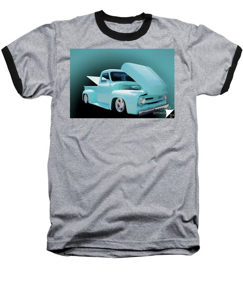 Baseball T-Shirt featuring the photograph Baby Blue 2 by Jim  Hatch