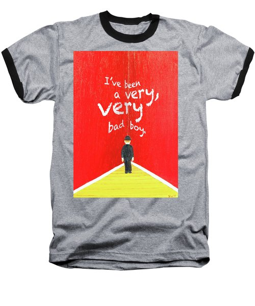 Bad Boy Greeting Card Baseball T-Shirt