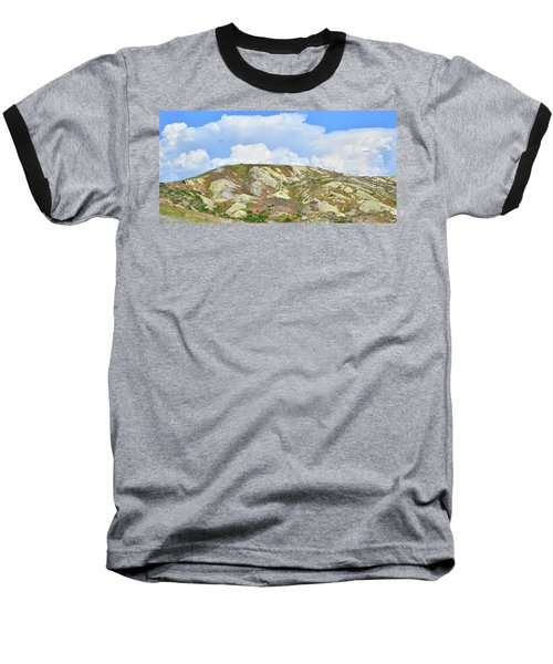 Badlands In Wyoming Baseball T-Shirt