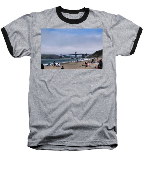 Baker Beach Baseball T-Shirt