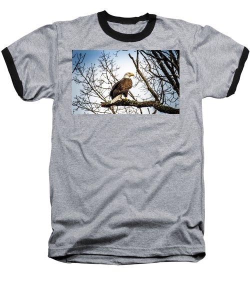 Bald Eagle Majesty Baseball T-Shirt
