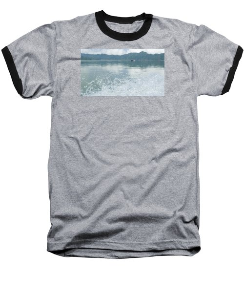 Bali River  Baseball T-Shirt by Nora Boghossian