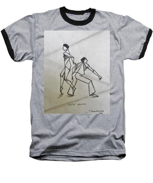 Ballet Practice Baseball T-Shirt