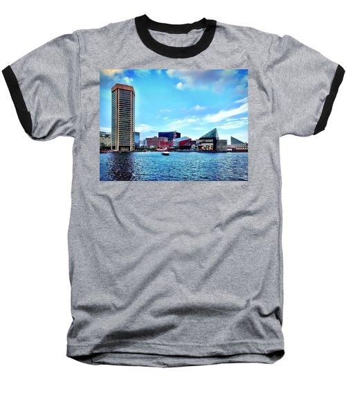 Baltimore's Inner Harbor Baseball T-Shirt