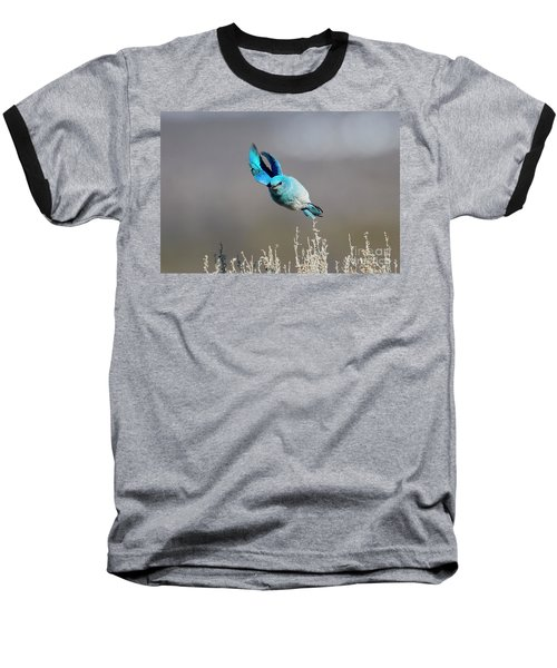 Baseball T-Shirt featuring the photograph Bank Right by Mike Dawson