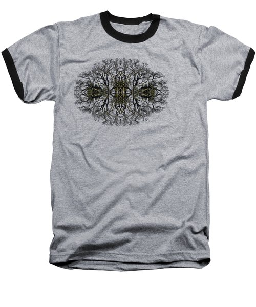 Baseball T-Shirt featuring the photograph Bare Tree by Debra and Dave Vanderlaan