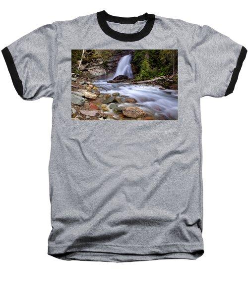 Baring Falls Baseball T-Shirt by Jack Bell
