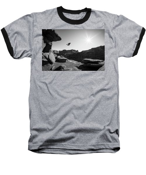 Base Jumper Baseball T-Shirt