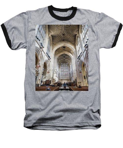 Bath Abbey  Baseball T-Shirt