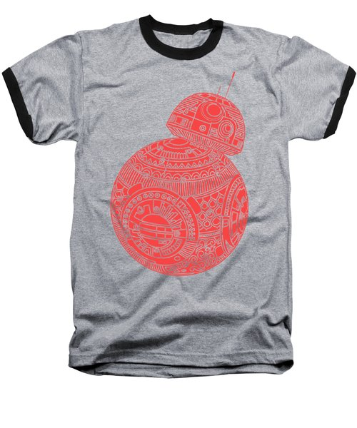 Bb8 Droid - Star Wars Art, Red Baseball T-Shirt