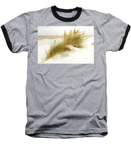 Baseball T-Shirt featuring the photograph Beach Grass by Hannes Cmarits