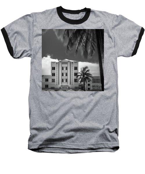 Beacon Hotel Miami Baseball T-Shirt