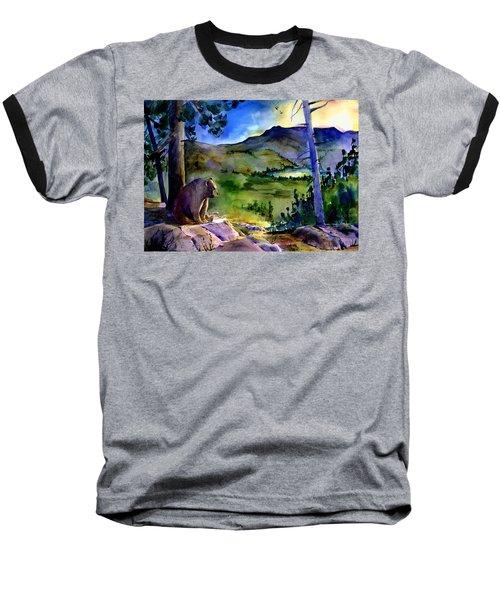 Bearly Light At Castle Peak Baseball T-Shirt