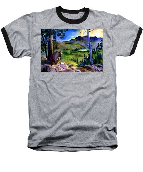 Bearly Light At Castle Peak Baseball T-Shirt