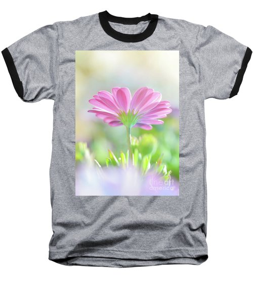 Beautiful Daisy Flower Baseball T-Shirt