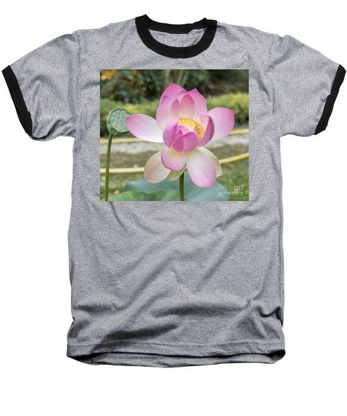 Beautiful Indian Lotus Baseball T-Shirt