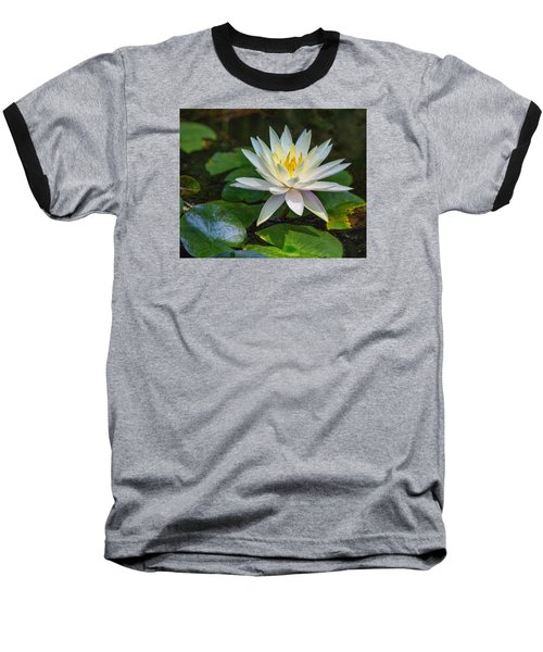 Beautiful Lotus Baseball T-Shirt