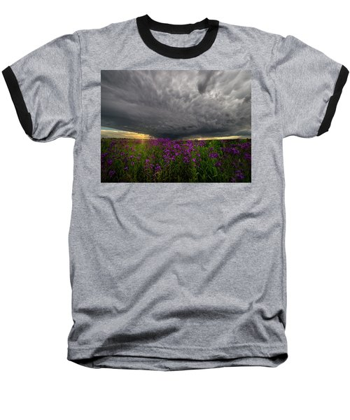 Baseball T-Shirt featuring the photograph Beauty And The Beast by Aaron J Groen