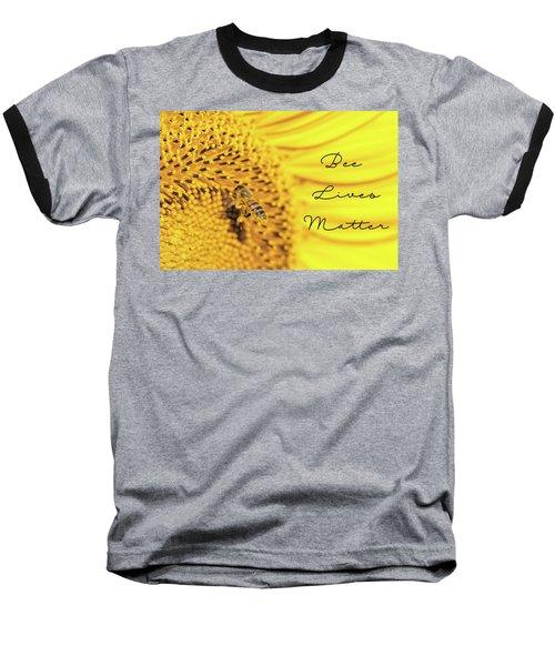 Bee Lives Matter Baseball T-Shirt