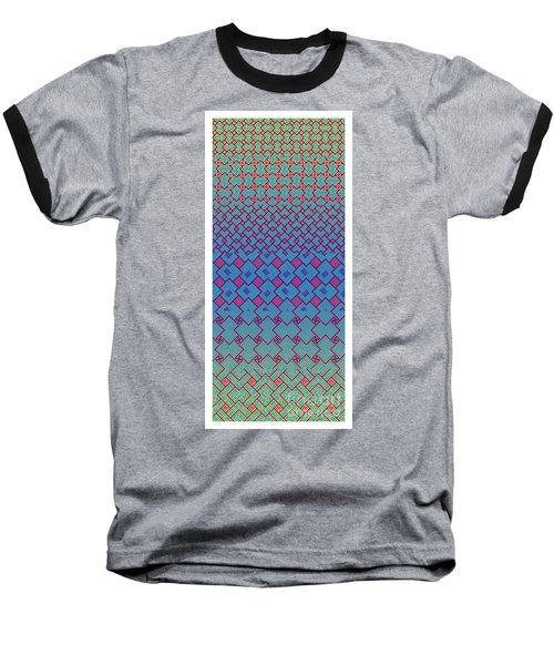 Bibi Khanum Ds Patterns No.3 Baseball T-Shirt