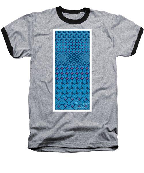 Bibi Khanum Ds Patterns No.7 Baseball T-Shirt