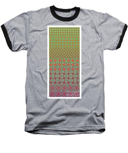 Bibi Khanum Ds Patterns No.8 Baseball T-Shirt