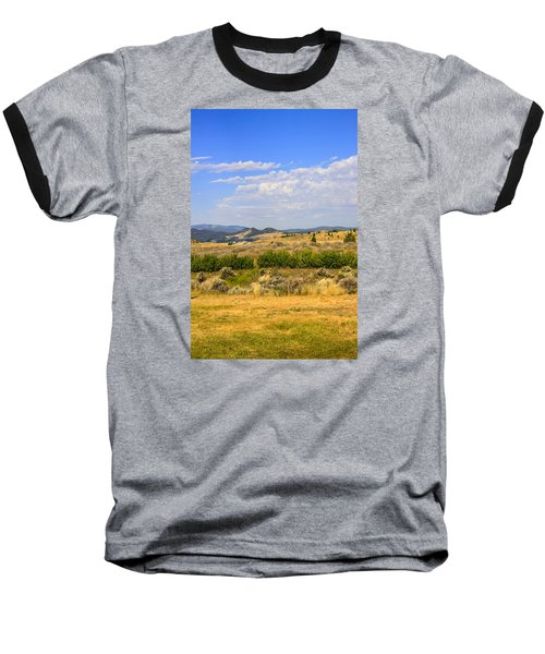 Big Sky Montana Baseball T-Shirt