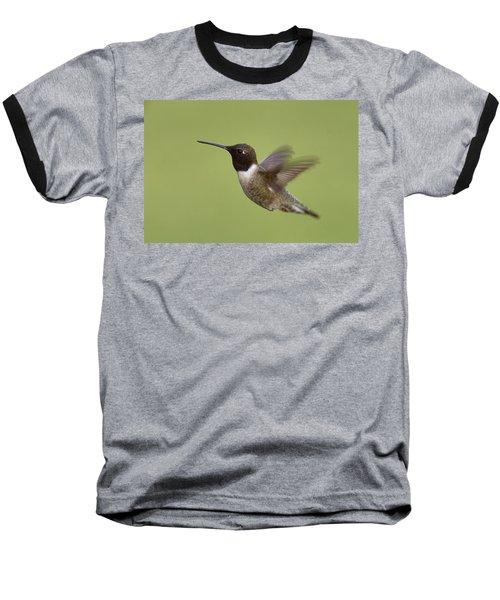 Baseball T-Shirt featuring the photograph Black-chinned Hummingbird by Doug Herr