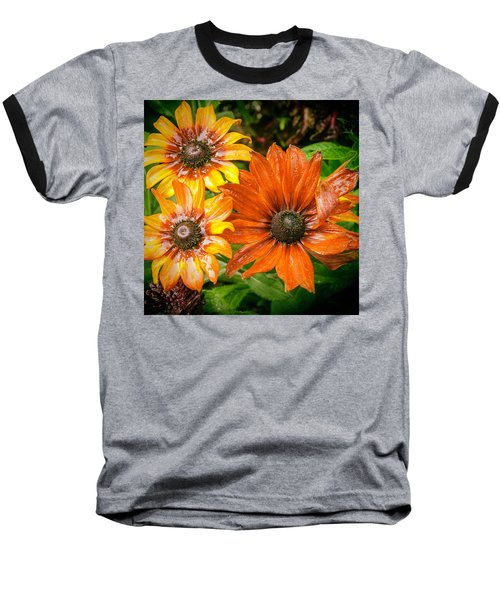 Black-eyed Susan Baseball T-Shirt