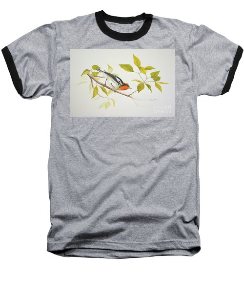 Blackburnian Warbler Baseball T-Shirt