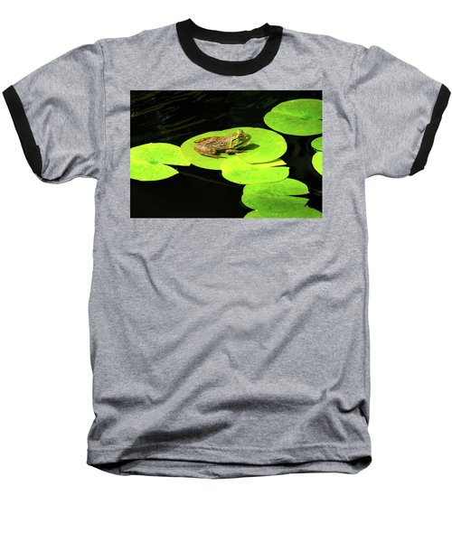 Baseball T-Shirt featuring the photograph Blending In by Greg Fortier