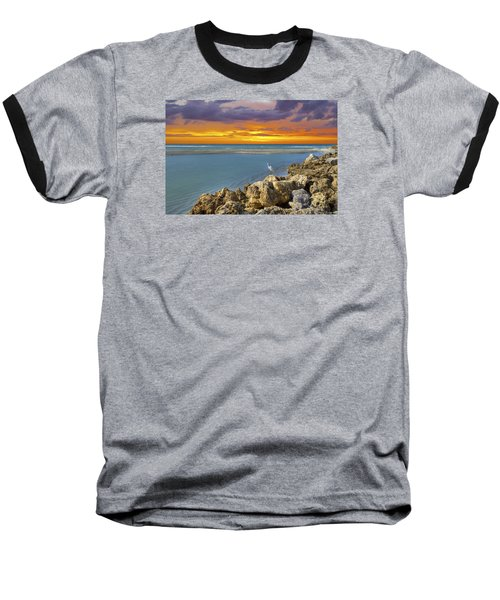 Blind Pass Sunset Baseball T-Shirt