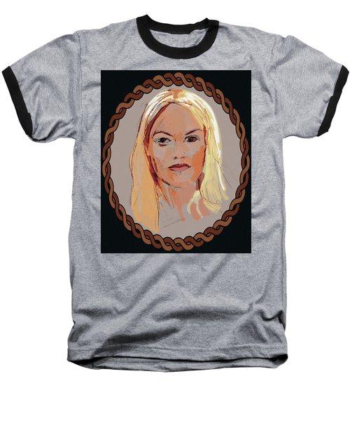 Blonde  Baseball T-Shirt