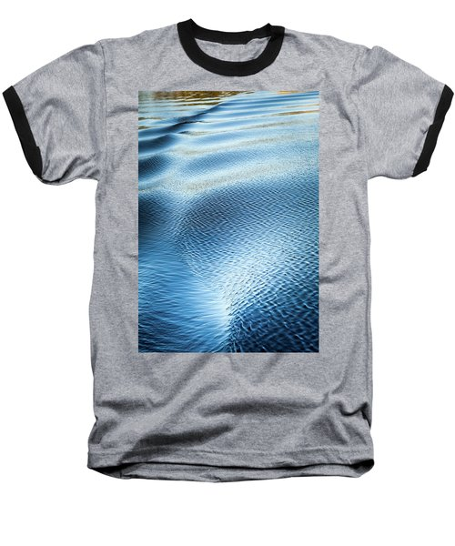 Baseball T-Shirt featuring the photograph Blue On Blue by Karen Wiles