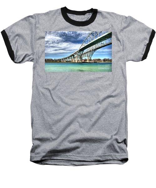 Blue Water Bridge Baseball T-Shirt