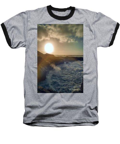 Blueside Baseball T-Shirt by Billie-Jo Miller