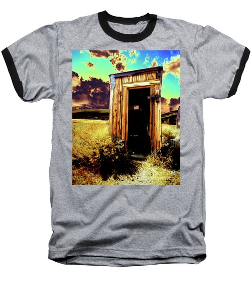 Bodie Outhouse Baseball T-Shirt by Jim and Emily Bush