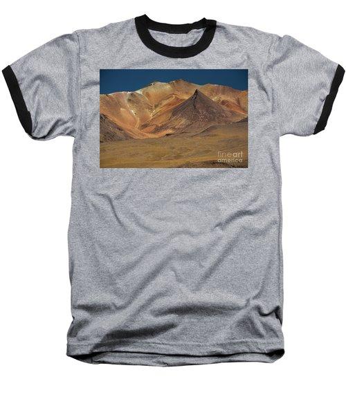 Bolivian Highland Baseball T-Shirt by Gabor Pozsgai
