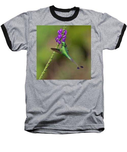 Booted Racket-tail Baseball T-Shirt