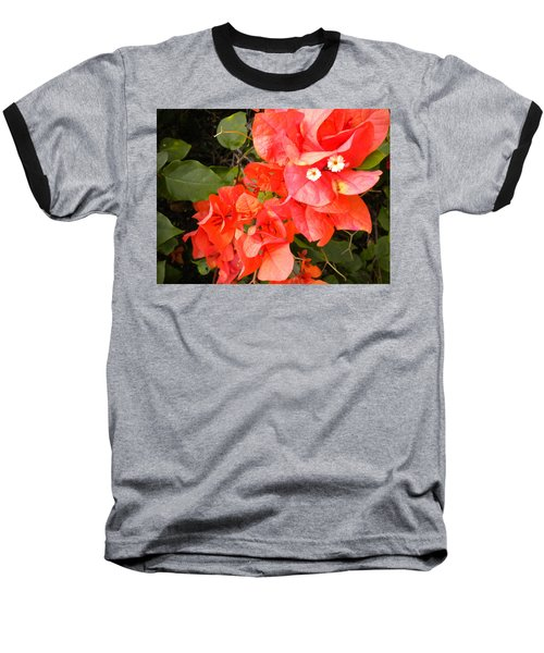 Bouganvilla 1 Baseball T-Shirt