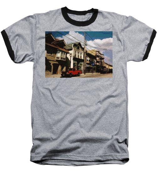 Brady Street Scene Baseball T-Shirt