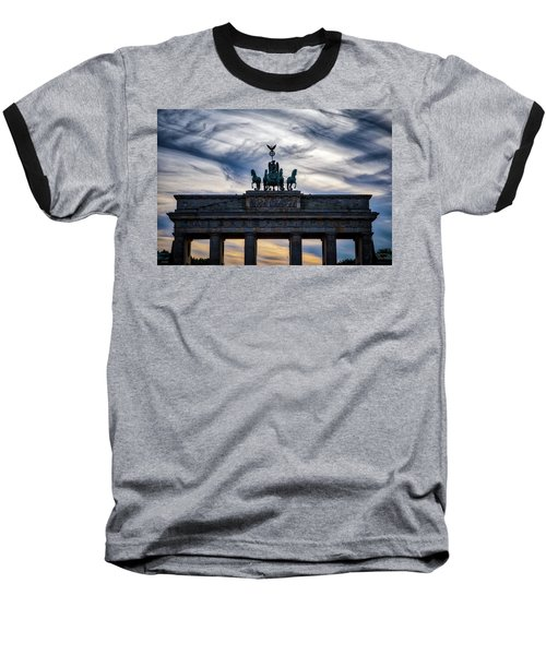 Brandenberg Gate Baseball T-Shirt