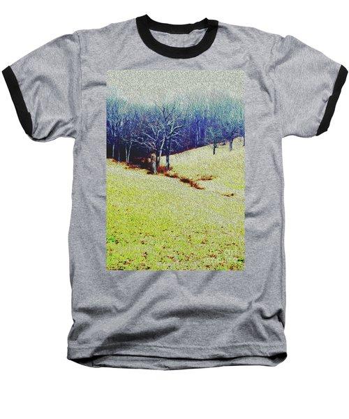 Brandywine Landscape Baseball T-Shirt by Sandy Moulder