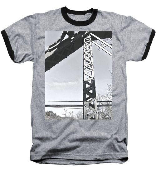 Bridge At Guerneville Baseball T-Shirt