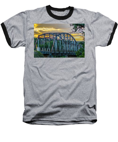 Bridge Baseball T-Shirt by Jerry Cahill
