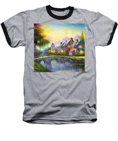 Bridge Over Troubled Waters Baseball T-Shirt