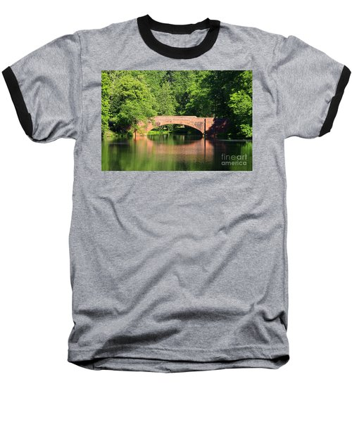Bridge Reflection In The Spring Baseball T-Shirt