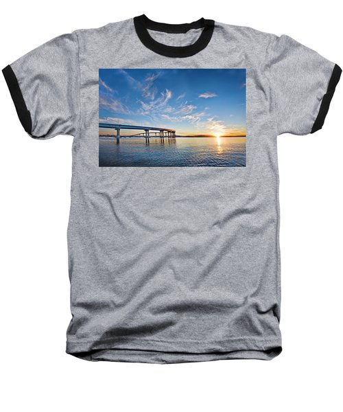 Bridge Sunrise Baseball T-Shirt